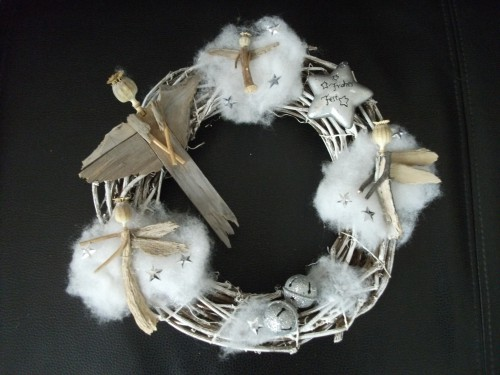 anges,couronne noël